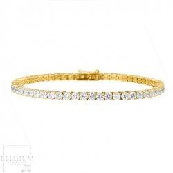4-41-caraat-diamanten-tennisarmband-in-geel-goud (3)