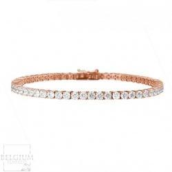 4-41-caraat-diamanten-tennisarmband-in-rood-goud (2)