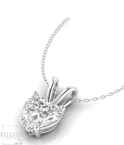 4 style diamond pendant heart round pear oval shape belgium 4 style diamond pendant heart round pear oval shape belgium flawless mozeypictures Images